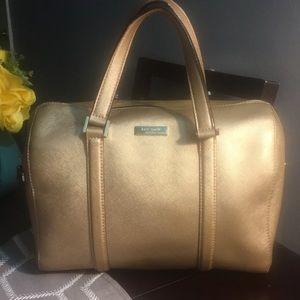 Rose Gold Kate Spade bag. Good condition